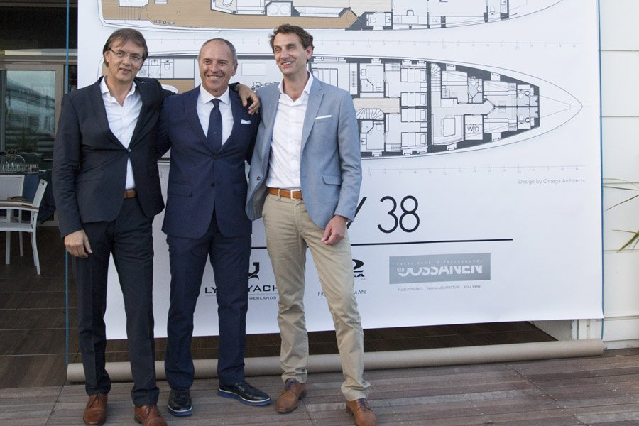 LOV 38 PROJECT UNVEILED BY LYNX YACHTS