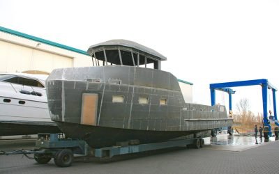 YXT 20M SUPPORT VESSEL – WORK IN PROGRESS ON THE FIRST UNIT