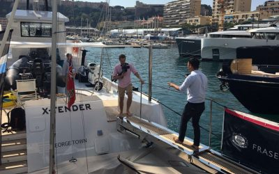 A SUCCESSFUL DEBUT OF YXT20 AT 2016 MONACO YACHT SHOW 2016