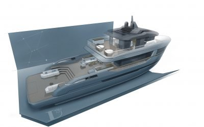 LYNX YACHTS UNVEILS CROSSOVER ORION